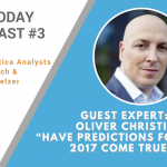 "AI Today Podcast #003 – Guest Expert: Oliver Christie: ""Have predictions for AI in 2017 Come True?"""