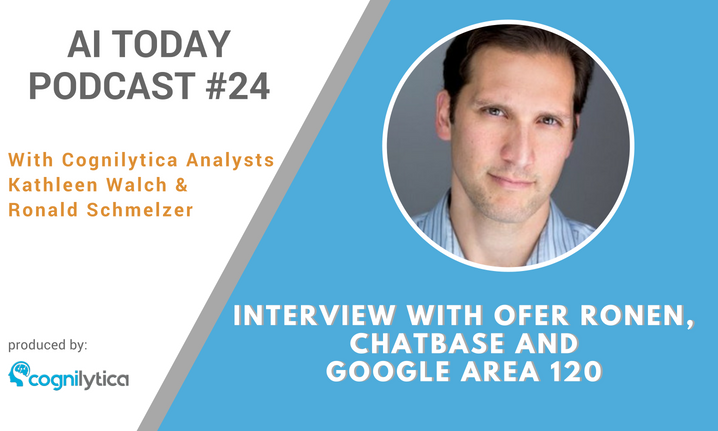 AI Today Podcast #024: Interview with Ofer Ronen, Chatbase