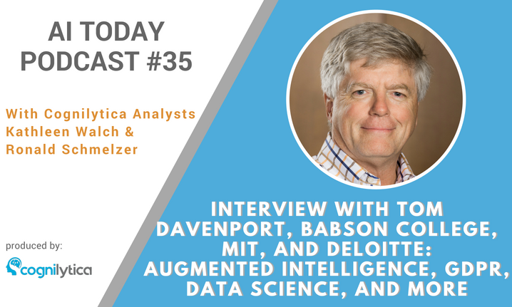 AI Today Podcast #35: Interview with Tom Davenport, Babson