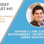 AI Today Podcast #41: Appian's Low-code AI Environment: Interview with Jorge Sanchez