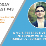 AI Today Podcast #43: A VC's Perspective on AI: Interview with Doba Parushev, Edison Partners