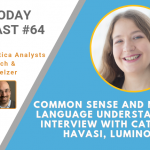 AI Today Podcast #64: Common Sense and Natural Language Understanding – Interview with Catherine Havasi, Luminoso