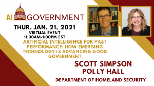 January AI in Gov 2021 – Scott Simpson, Polly Hall